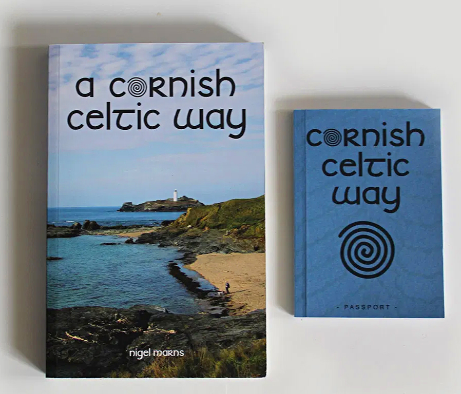 Cornish Celtic Way guide book and passort